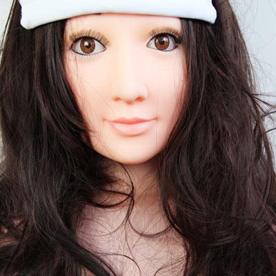 志玲姐姐 半实体一体坐姿充气娃娃 首款最漂亮的充气玩偶【包邮;赠送10只装安全套;赠延时湿巾】
